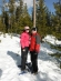 Snowshoeing with Spencer