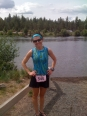 Happy Girl Half in Bend