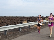 Hot run at Kona Marathon