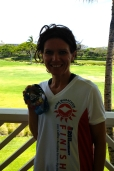 Kona Medal- one my hardest earned medals.