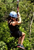 Zip-lining- you have to try it